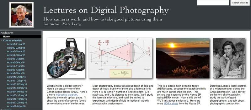 curs foto online gratuit in limba engleza