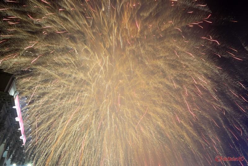 poze Focuri de artificii Revelion 2017 Bucuresti