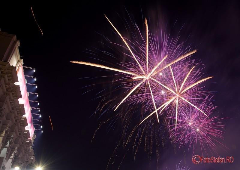 fotografii Focuri de artificii Revelion 2017 Bucuresti