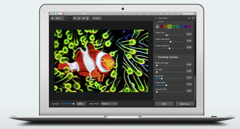 topaz labs glow program prelucrare fotografii