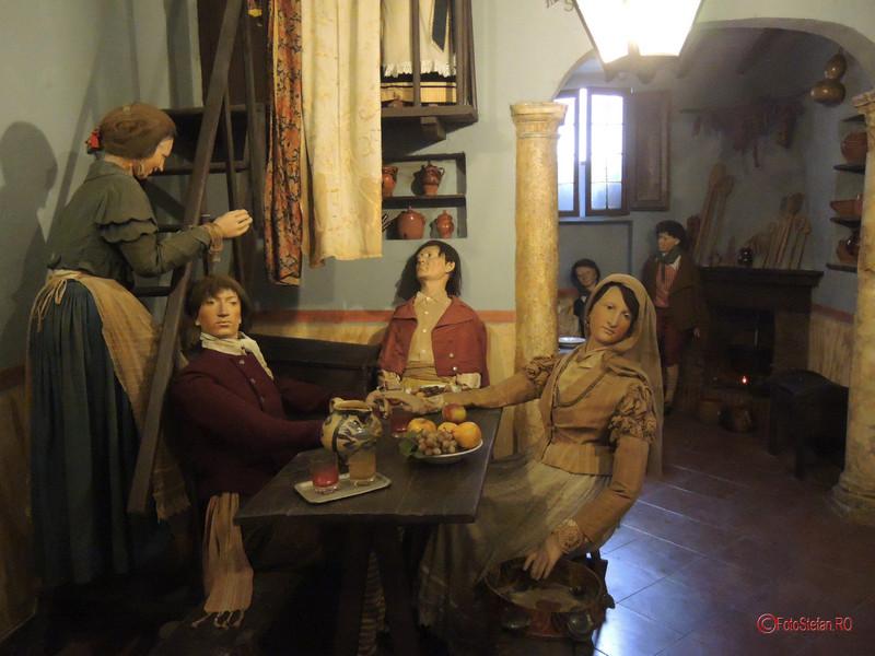 poza scena taverna Museo di Roma in Trastevere
