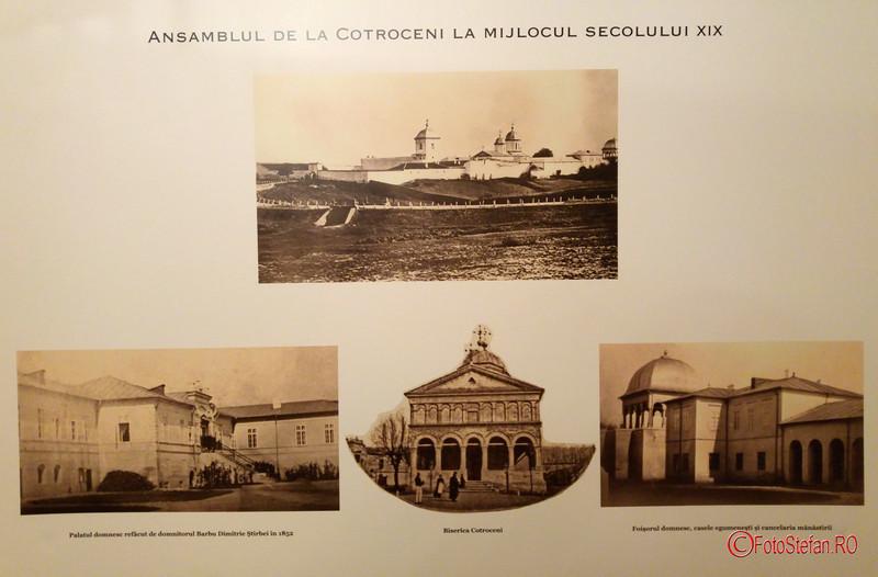 poza ansamblul cotroceni secolul XIX