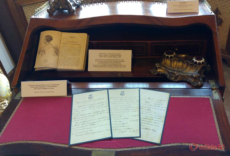 poze scrisori elena cuza muzeul cotroceni