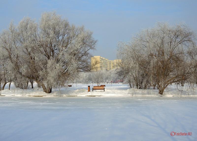 fotografii parcul titan iarna zapada bucuresti ianuarie 2017