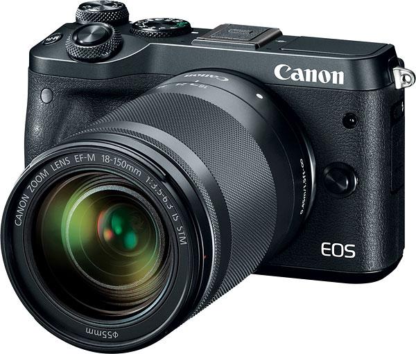 poza Canon M6 mirrorless