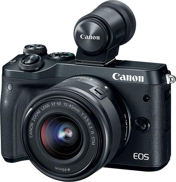 poza Canon EOS M6   vizor electronic Canon EVF-DC2