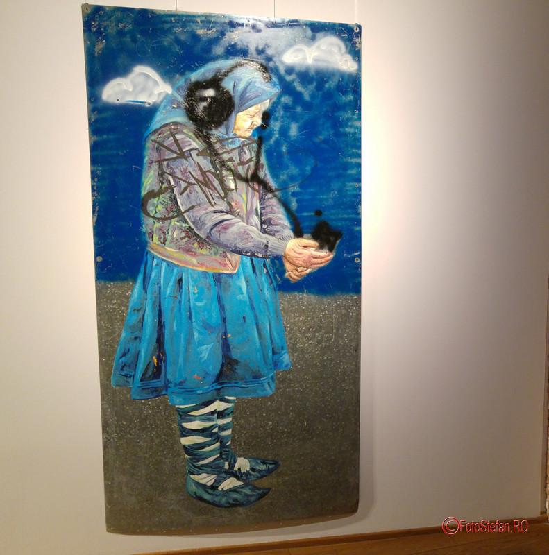 lucrarea punct de colectare a artei Dumitru Gorzo  Arcub Bucuresti