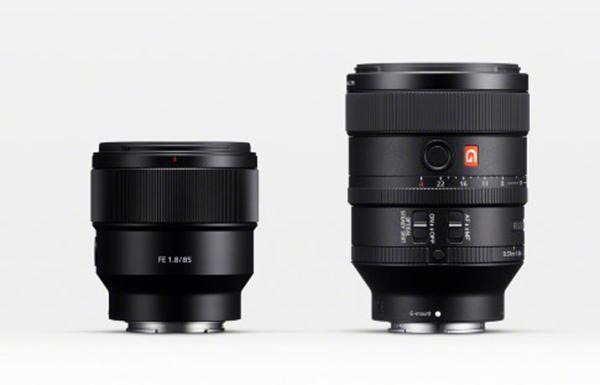 poze obiective mirrorless montura e Sony SEL85F18 Sony  SEL100F28GM