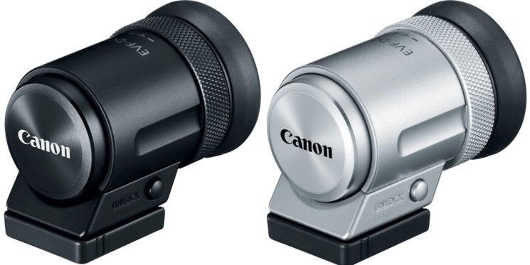 poza  vizor electronic Canon EVF-DC2