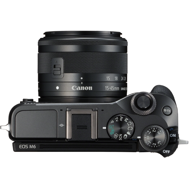 poza Canon EOS M6 mirrorless