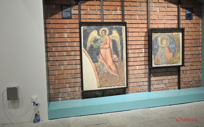 poze fresce restaurate manastire demolata ceausescu