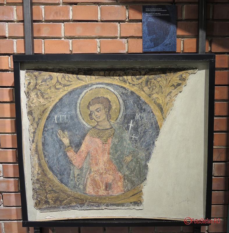 poza fresca icoana restaurata manastirea vacaresti demolata ceausescu