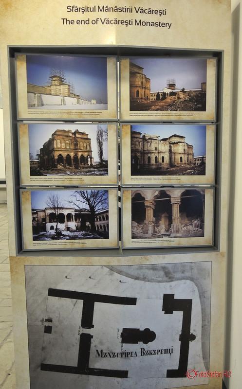 poze manastirea vacaresti demolare ceausescu bucuresti