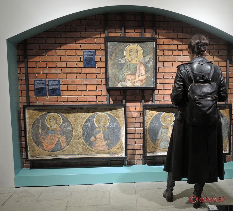 poze vernisaj expozitie fresce restaurate manastirea vacaresti
