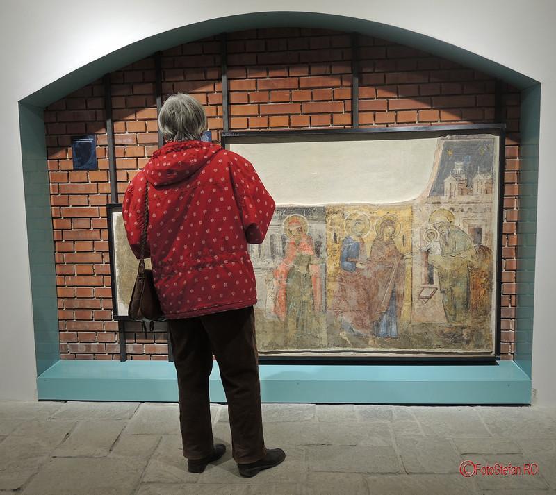 În apropierea sfinților – frescele Mănăstirii Văcărești după 40 de ani