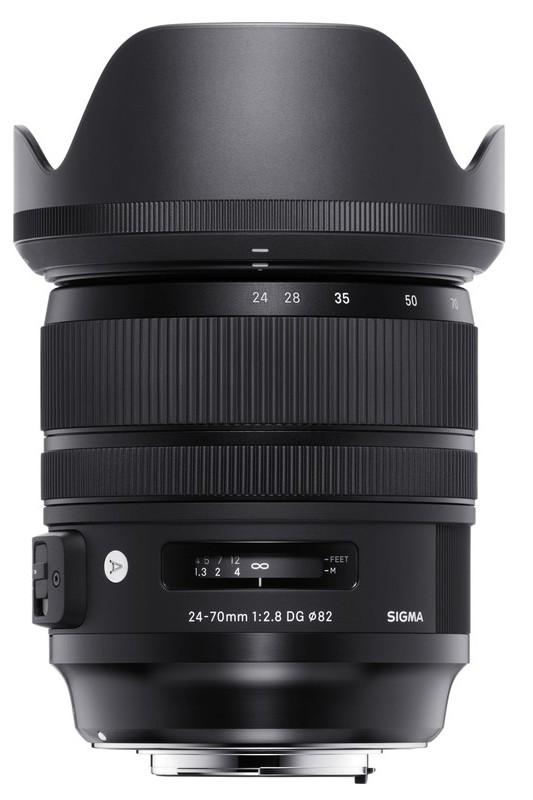 poza obiectiv Sigma 24-70mm f2.8 DG HSM OS Art