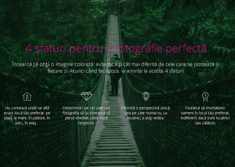 4 sfaturi pentru o fotografie perfecta