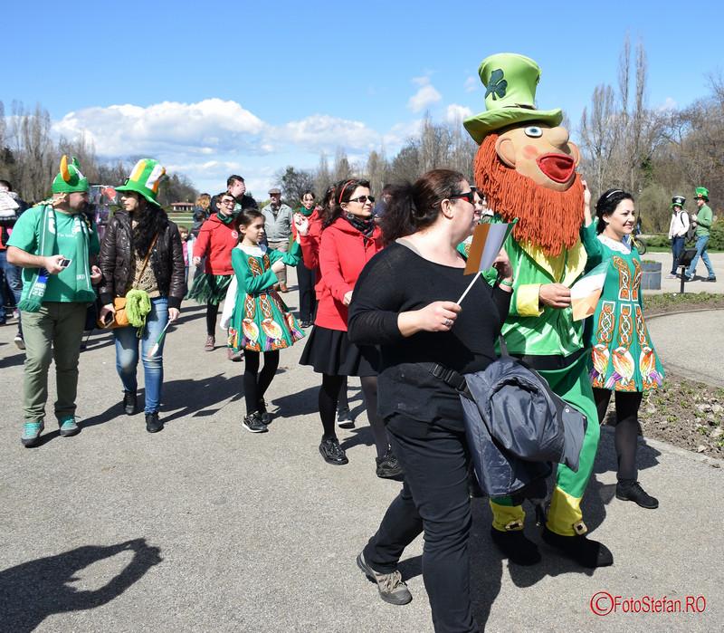 poze parada st. patrickțs day bucuresti romania