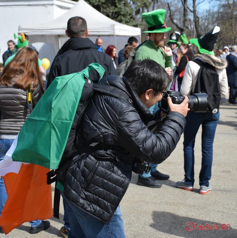 poza fotograf steag irlandez sfantul patrick bucuresti