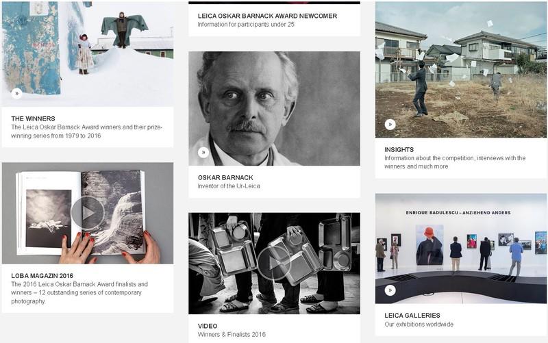 Leica Oskar Barnack Award 2017concurs foto fotograf profesionist