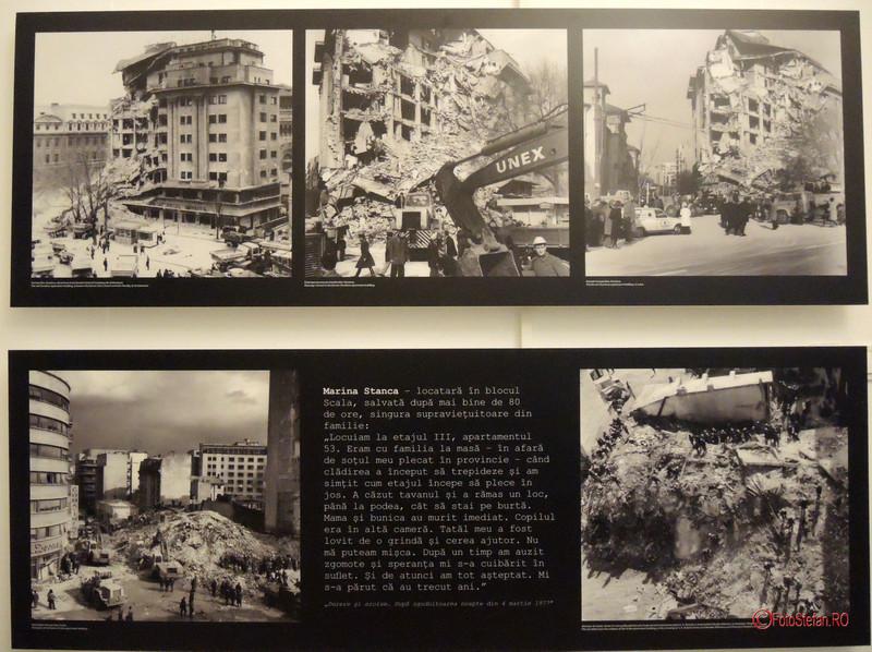 expozitia foto Marturii fotografice ale cutremurului din 4 martie 1977