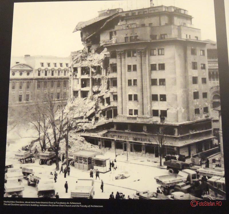 poza cutremur bucuresti 1977 blocul dunarea