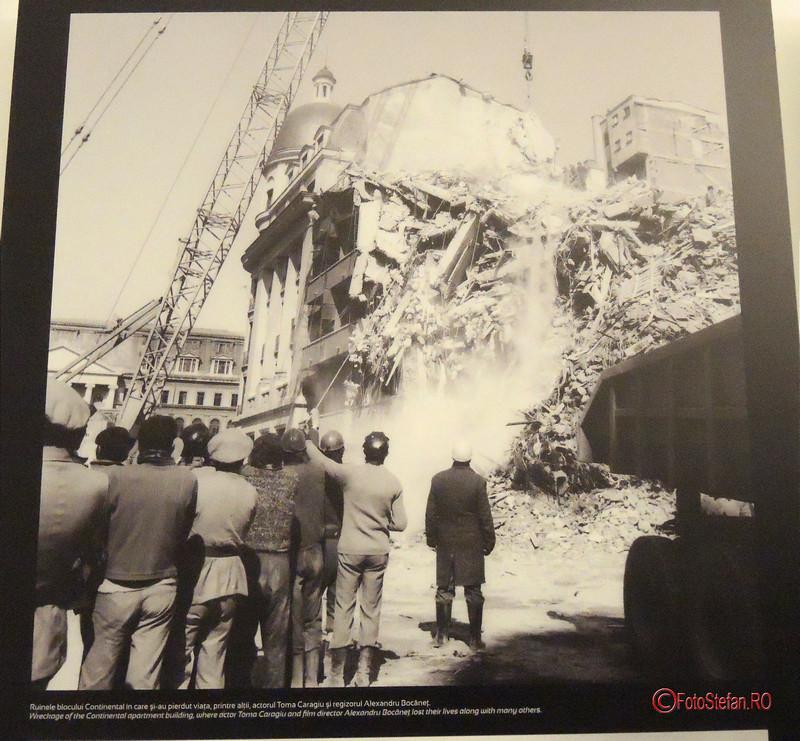 poze cutremur bucuresti 1977 bloc continental