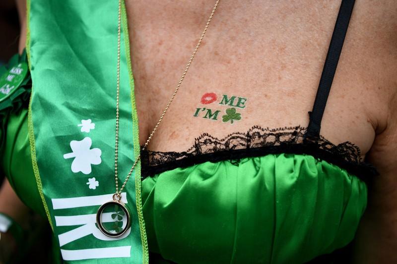 poza parada sfantul patrick australia tatuaj