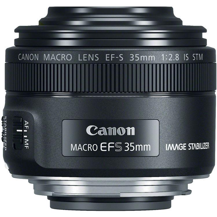 obiectiv Canon EF-S 35mm f/2.8 Macro IS STM LED ring-flash integrat