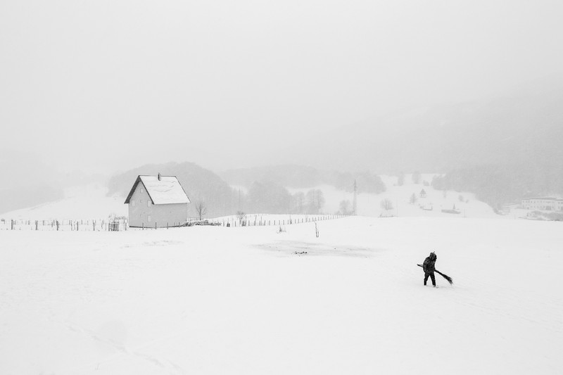 Frederik Buyckx fotograful anului swpa 2017 peisaj iarna zapada