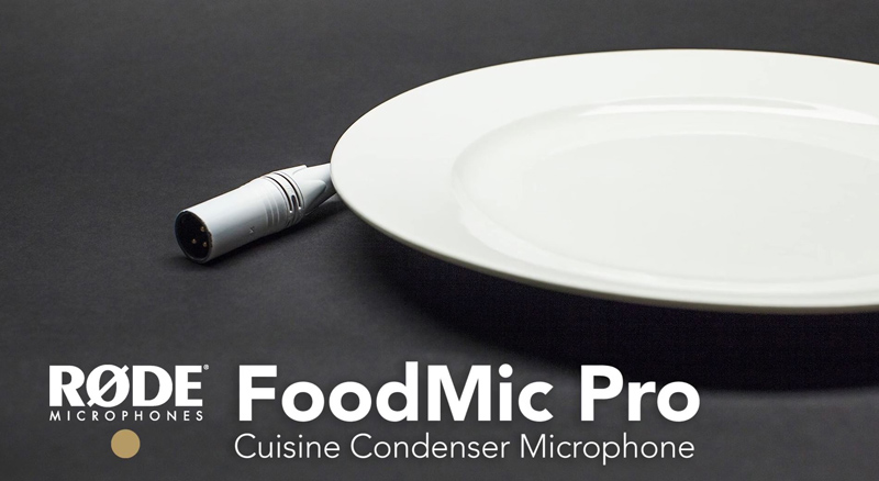 microfon 1 aprilie rode Cuisine Condenser Microphone