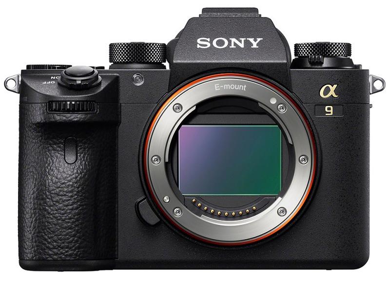 poza senzor fullframe mirroless Sony α9