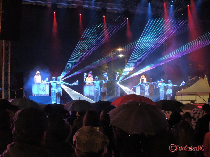 poze spectacol spotlight festivalul luminii