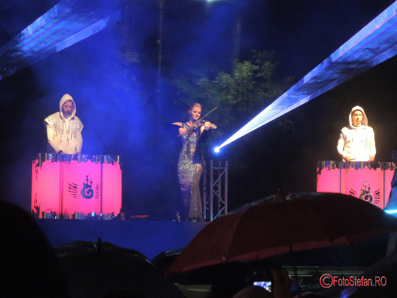 poze spectacol lumini Illuminaire bucuresti 2017