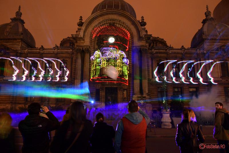 poze foto festivalul luminii spotlight bucuresti
