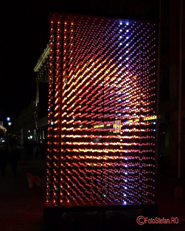 poze instalatie lumini Hyperbinary spotlight