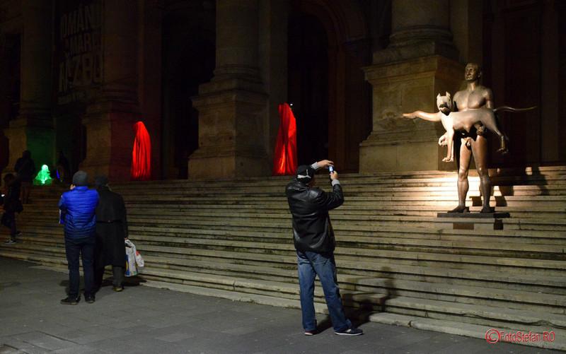 poza festivalul luminii spotlight bucuresti