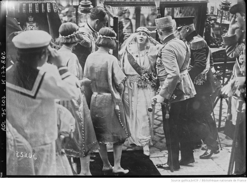 fotografie veche serbia regina nunta