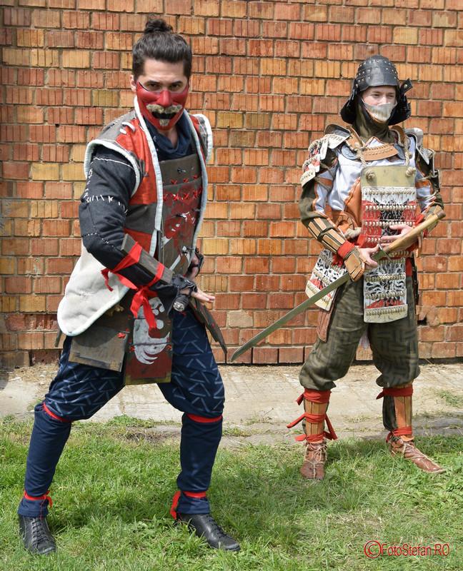 poza cosplay samurai East European Comic Con 2017 Bucuresti #eecc2017