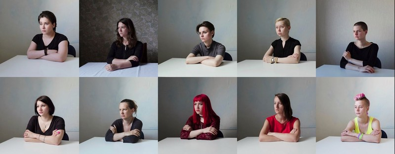 poze fotografii portret fete Mary Gelman