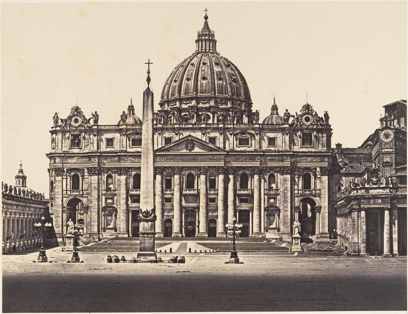 veche fotografie poza gratuita vatican roma italia 1848
