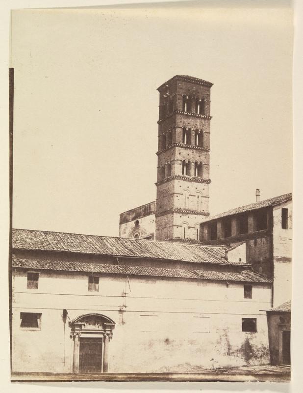 poza veche gratuita Basilica di Santa Francesca Romana roma italia 1850