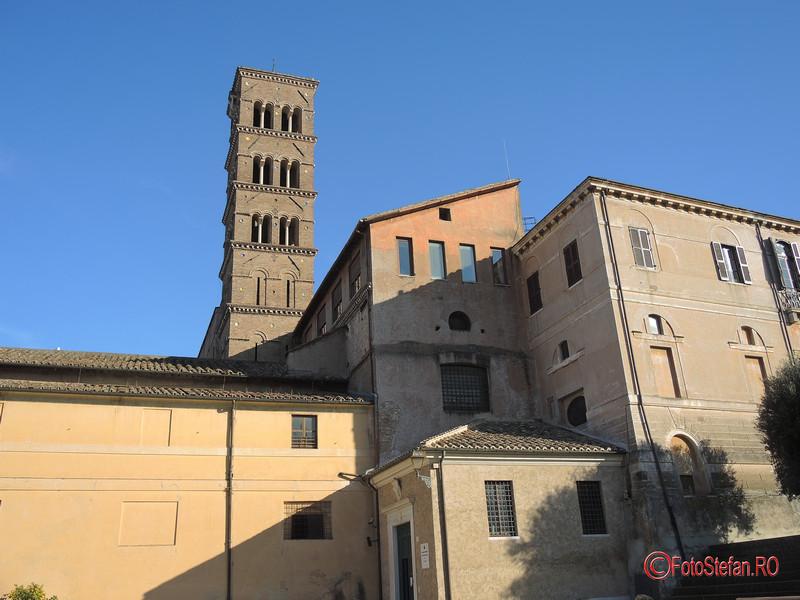 poza foto Basilica di Santa Francesca Romana roma italia iarna