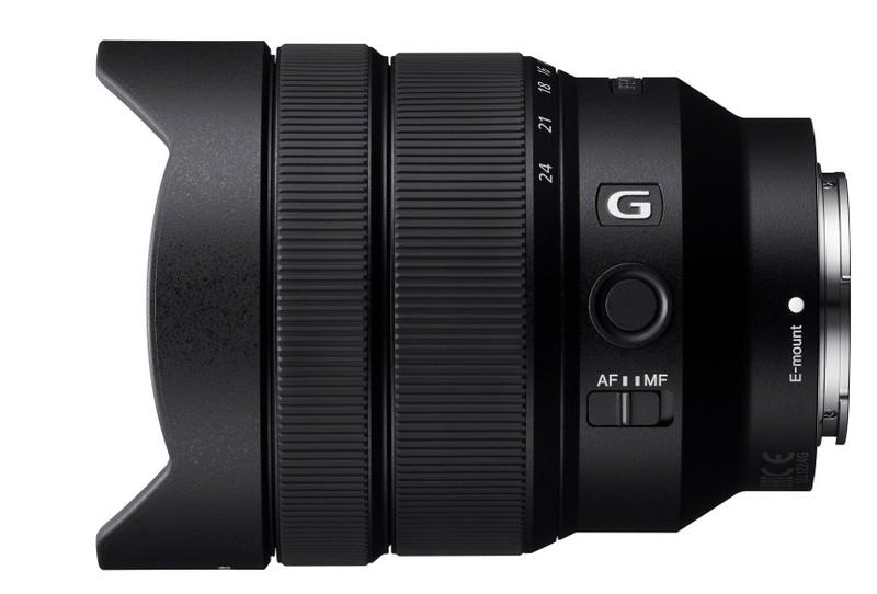poza obiectiv superangular montura e Sony FE F4 G de 12-24mm (SEL1224G)