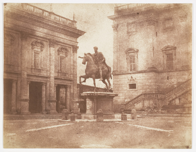 poza veche sepia muzeul capitoline roma italia