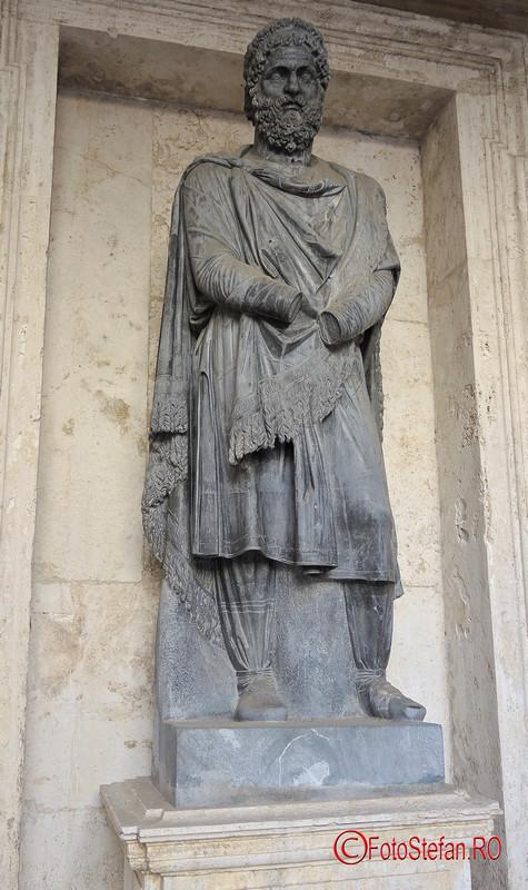 poza statuie dac muzeele capitoline roma italia
