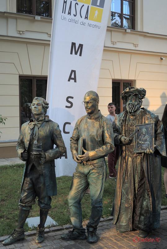fotografii statui vivante masca bucuresti casa cesianu #fisv2017 #statuivivante