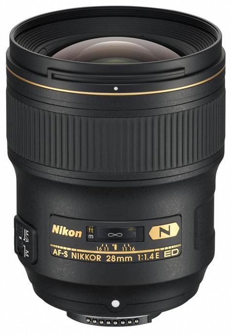 obiectiv Nikon AF-S NIKKOR 28mm f/1.4E ED