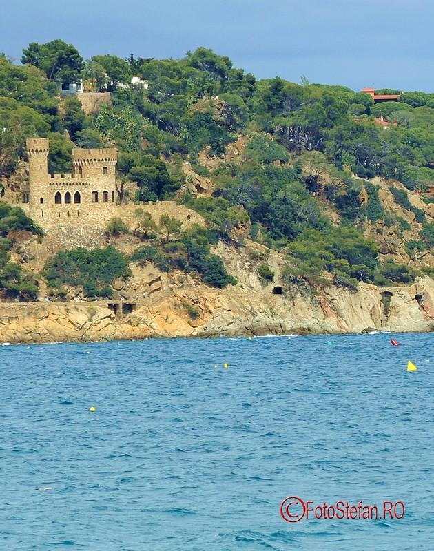 poza castel D'en Plaja lloret de mar costa brava spania