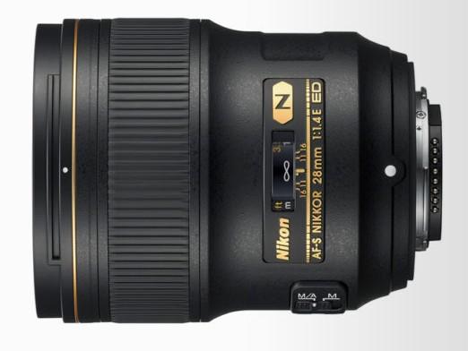 obiectiv dslr full frame fx Nikon AF-S NIKKOR 28mm f/1.4E ED